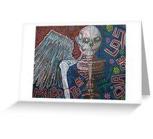 Angel De Los Muertos Greeting Card