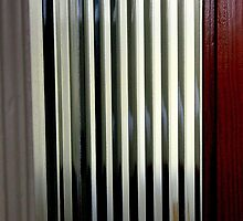 Ribbed Glass Door by Michael May