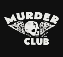 Murder Club Tee Shirt by hellochaos