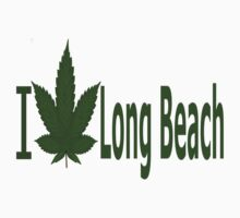 0117 I Love Long Beach by Ganjastan