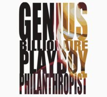 Genius, Billionaire, Playboy, Philanthropist by Kaylen Lenore