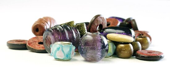 Beautiful Bundle of Beads by Clare Colins