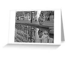 The Fountain .... Greeting Card
