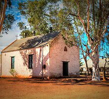 Hermannsburg Lutheran Church by Steve Randall