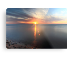 The Beaty of a Sunset Metal Print