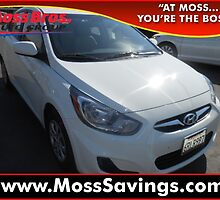 2012 Hyundai Accent by John Doe