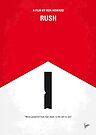 No228 My Rush minimal movie poster by Chungkong