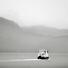 Over the sea from Skye by Richard Flint