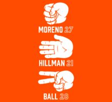 Moreno, Hillman & Ball (Rock-Paper-Scissors) by Fantag® Tees