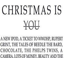 Christmas List by WhovianLillie