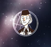 50th Anniversary 1st Doctor  by nowaitwhat