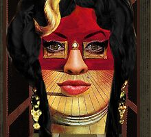 Amy as Portrait of Mae West by Salvador Dalí by PrivateVices