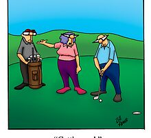 Funny Golf Cartoon! by spectickles