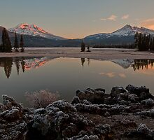 Frosty sunrise by Jeff Chen