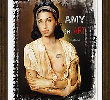 Amy Winehouse as Galarina by Salvador Dalí ( only card) by PrivateVices