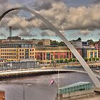 The Gateshead Millennium Bridge by Jon Lees