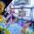 Adrift inside the nebula by Bantambb