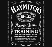 Haymitch Abernathy Hunder Games Training by PanemPropaganda