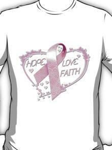 Hope Love Faith T-Shirt