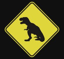 T-Rex Crossing by divebargraphics