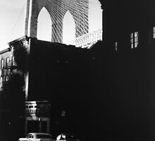 Brooklyn Bridge 1971 by John Schneider