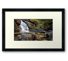 Lady Bath Falls Framed Print