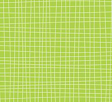 Green Crosshatch by kwg2200