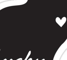 Lucky Black Cat Sticker