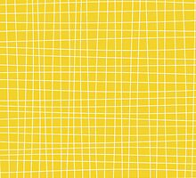Yellow Crosshatch by kwg2200