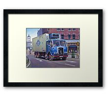 Atkinson meat wagon Framed Print