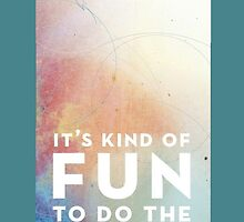 It's kind of fun to do the impossible - Walt Disney by Hollie512
