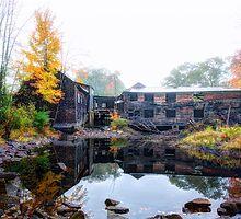 Autumn Downstream by Richard Bean