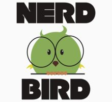 Nerd Bird with glasses by berlinrob