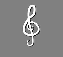 Treble Clef by Lauramazing