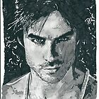 Ian Somerhalder Sketch by chrisjh2210