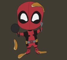 Pancake Time with Deadpool by FretfulFanatic