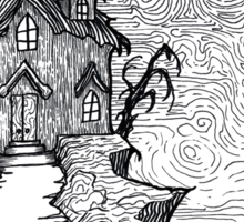 Haunted House  Sticker