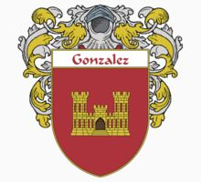 Gonzalez Coat of Arms/Family Crest Kids Clothes