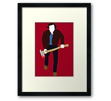 Jack Torrance - The Shining Framed Print