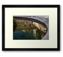 Reflecting on Noto and Its Beautiful Sicilian Baroque Architecture Framed Print