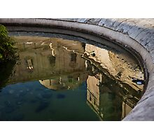 Reflecting on Noto and Its Beautiful Sicilian Baroque Architecture Photographic Print