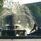 Fountain - tilt shifted by PhotosByG