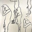 life drawing by H J Field