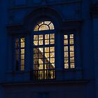A Glimpse Through a Window - Piazza Navona, Rome, Italy by Georgia Mizuleva