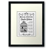 Bleak House by Charles Dickens Framed Print