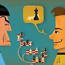 Kirk vs. Spock by Matt Kroeger
