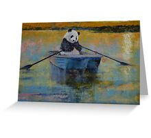 Panda Reflections Greeting Card