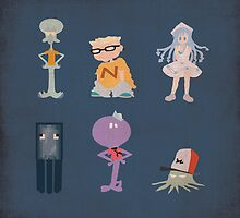 Famous Squids by Matt Kroeger