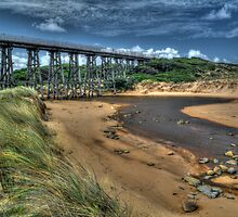 Kilcunda Railway Bridge #3 by Bette Devine