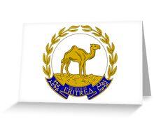 Emblem of Eritrea  Greeting Card